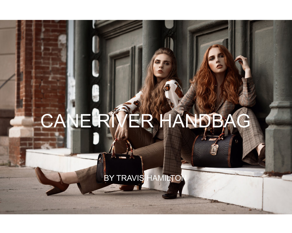 Anthem in Art editorial photoshoot for Cane River Handbags by Travis Hamilton