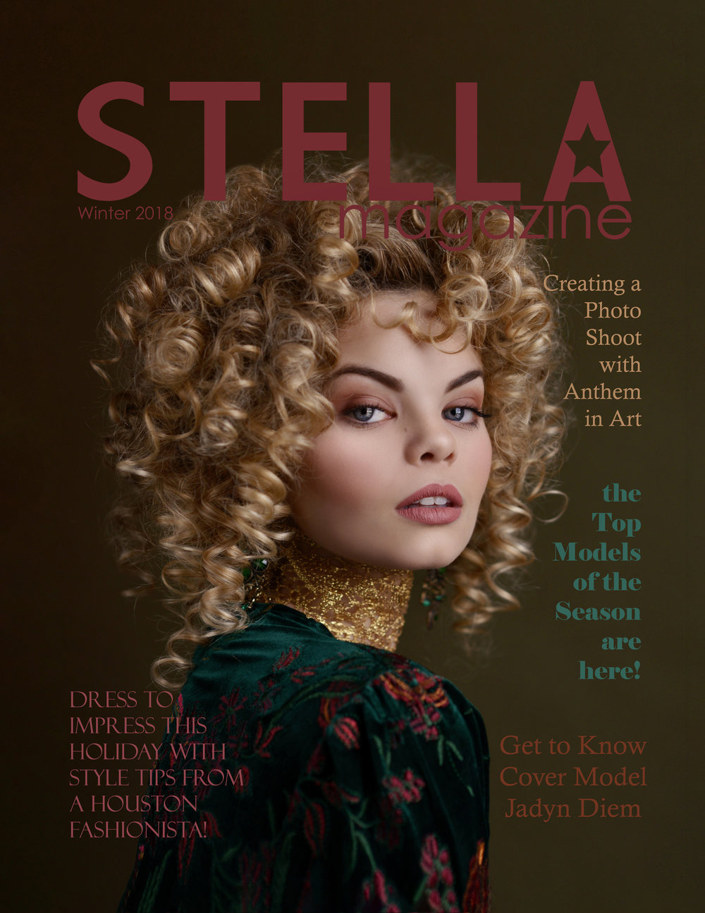 Stella Magazine Winter 2018 Cover