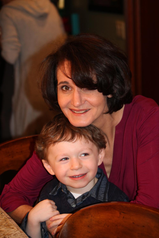 Brayden and his Aunt Jackie
