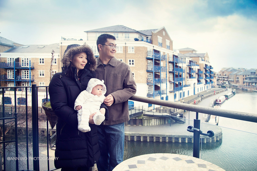 baby photography home visit on Central London