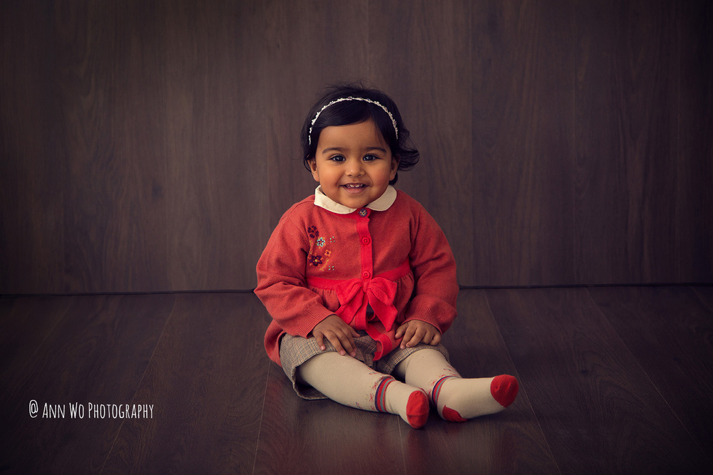 one year old child photography london