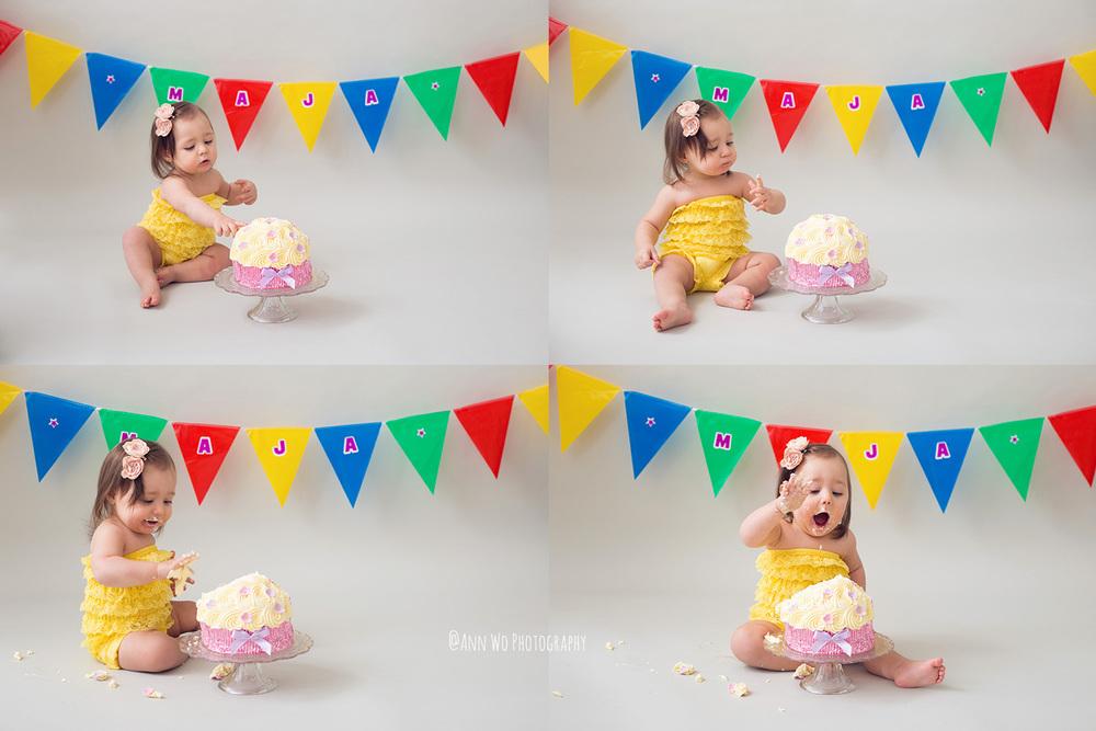 cake smash baby photography london uk
