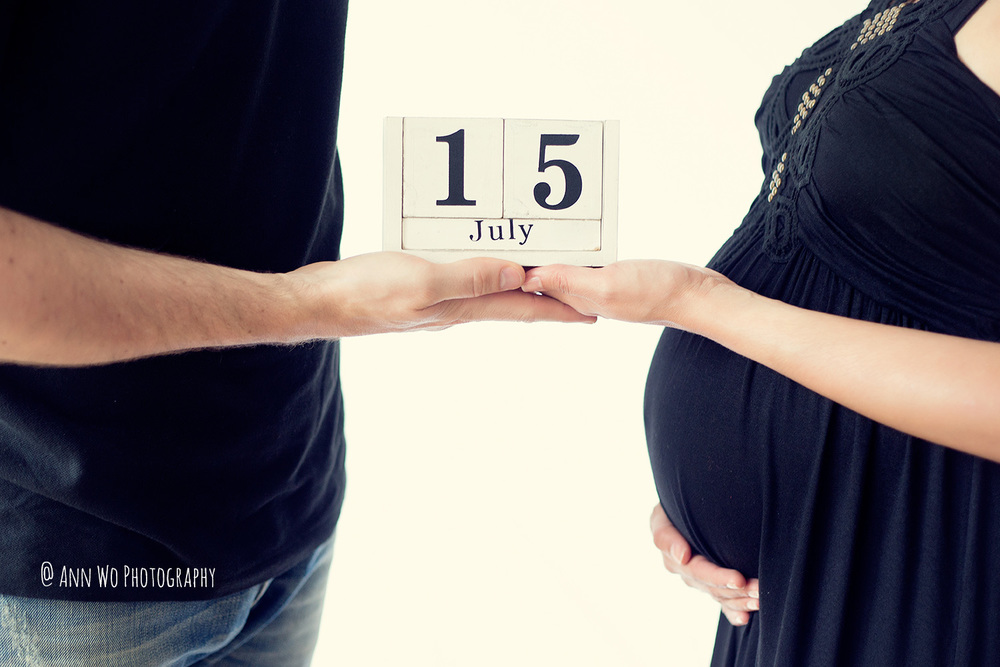 Due date - maternity photographer ann wo london