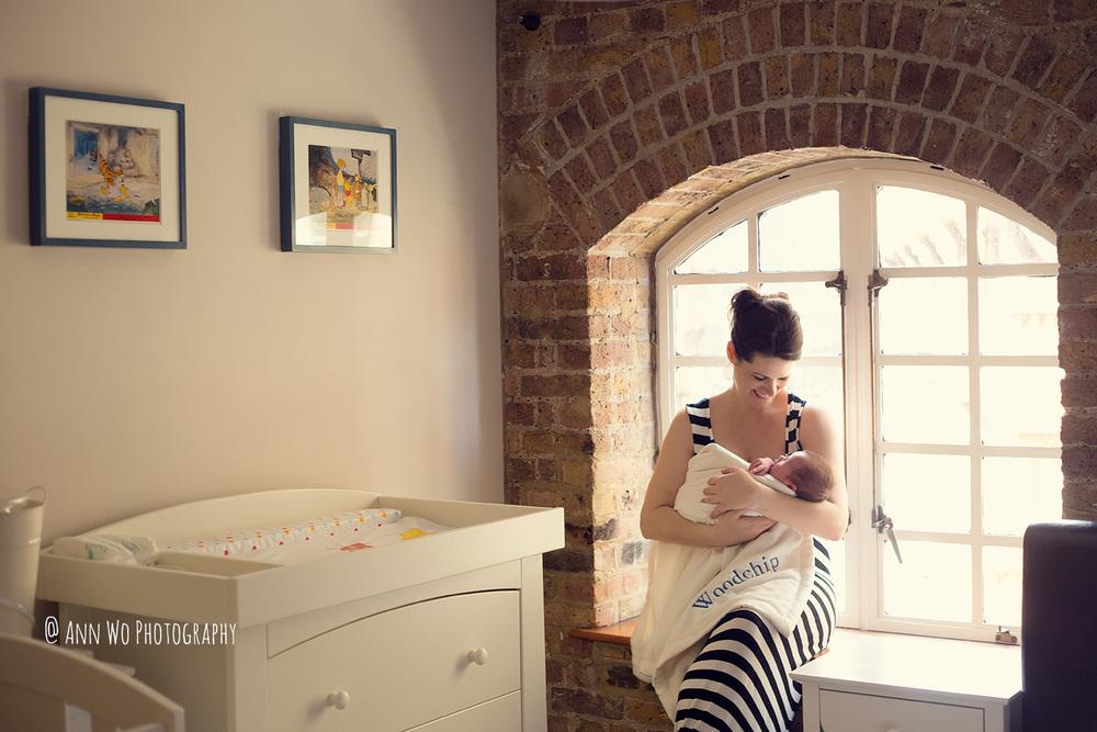 lifestyle newborn photography ann wo london