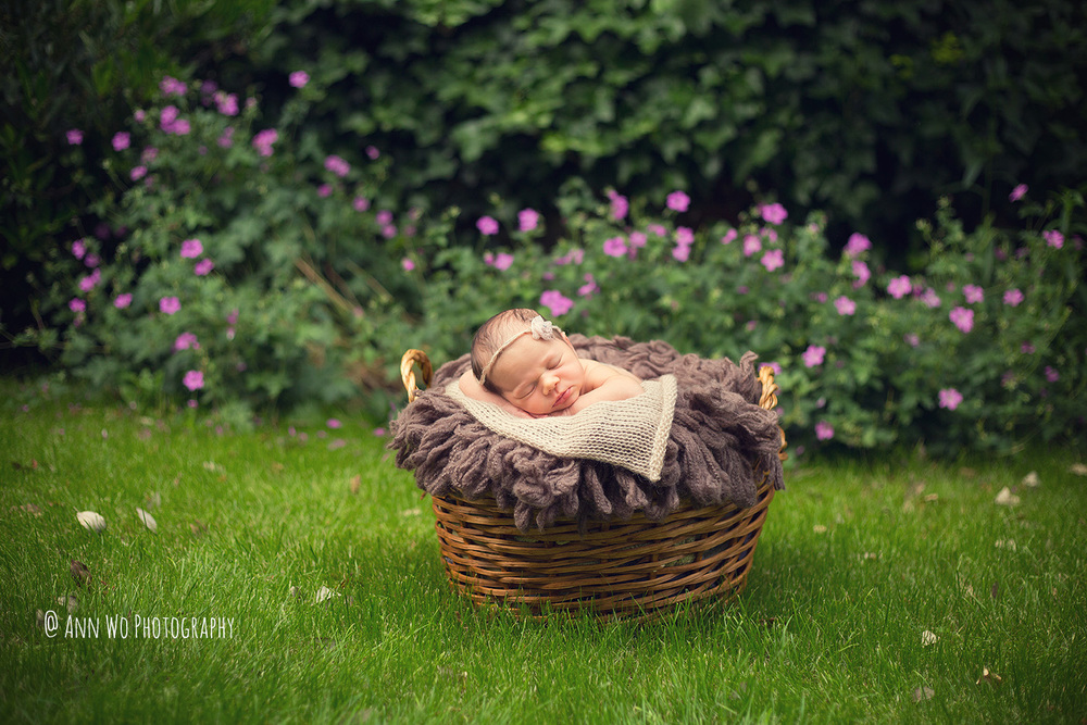 outdoor newborn photography london