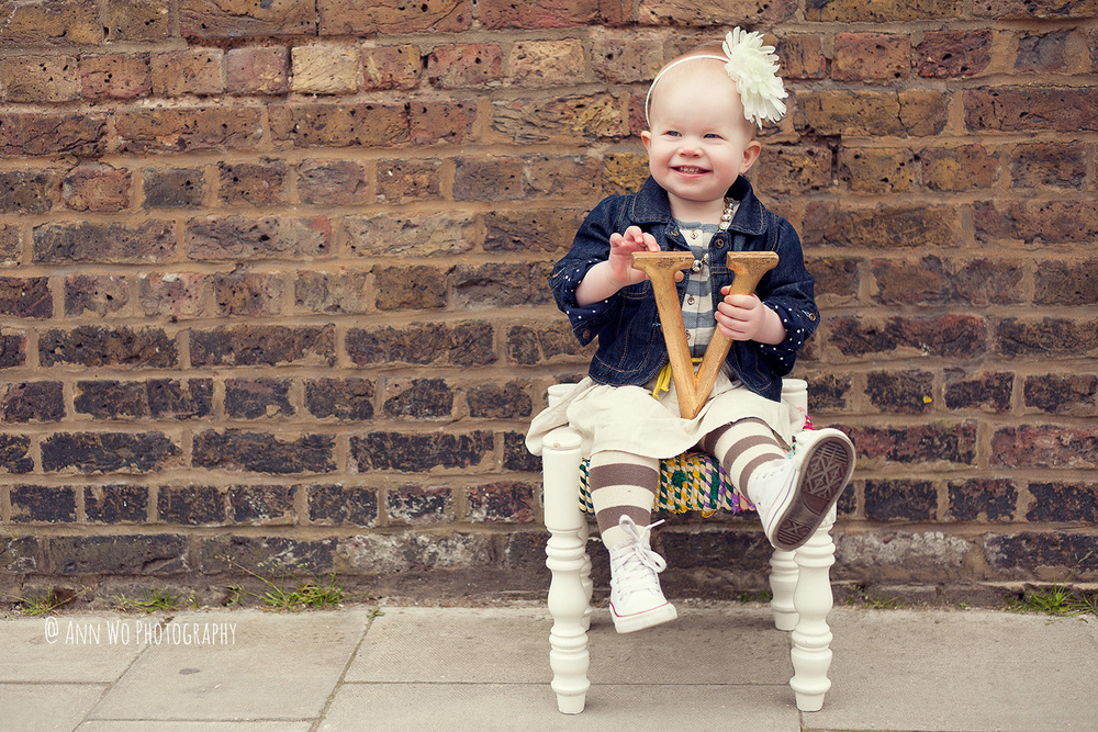 baby photography session in London