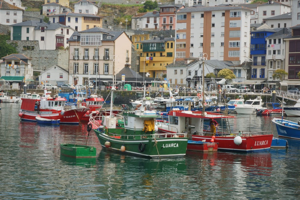 Luarca is a small fishermen's village in Asturias.