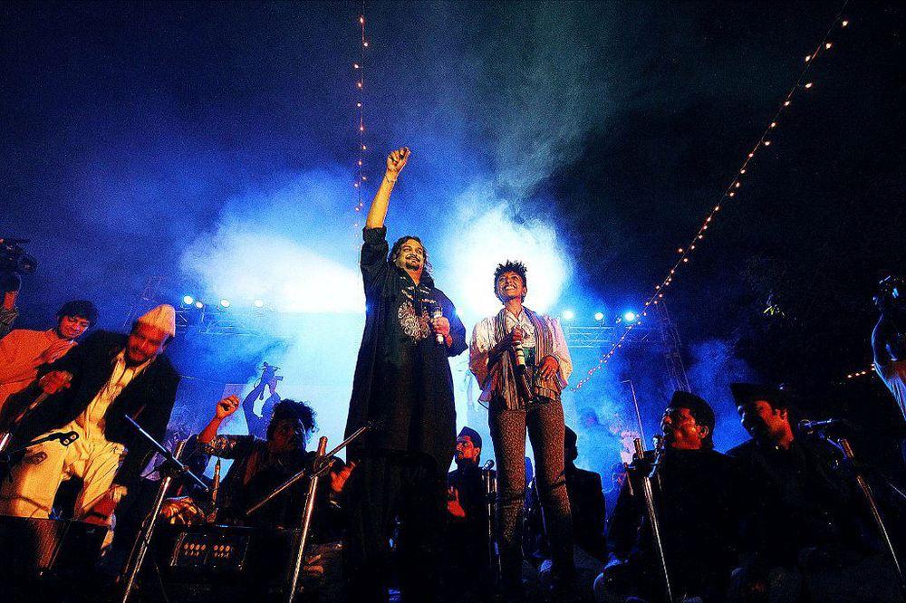 Hip Hop Qawwali with Amjad Sabri, Karachi, 2011