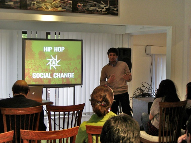Hip Hop and Social Change Workshop, Islamabad, 2012