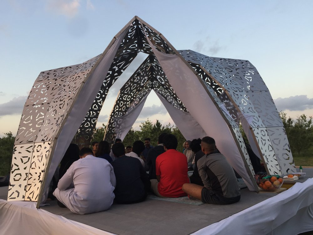 Mobile Mosque, Countercurrent Festival, Houston, 2017