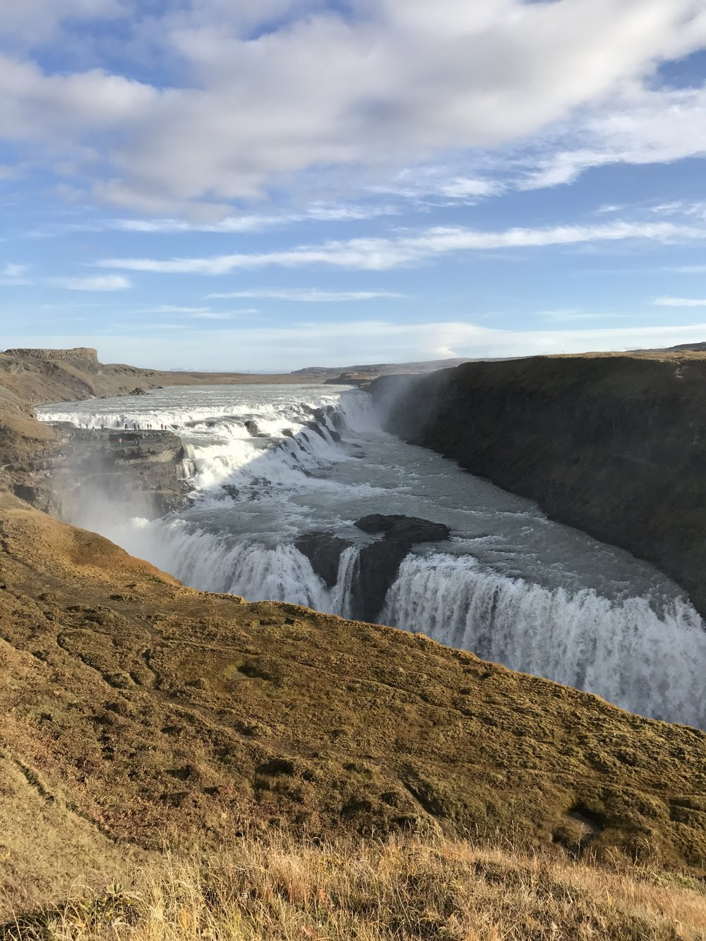 Gullfoss is so pretty.