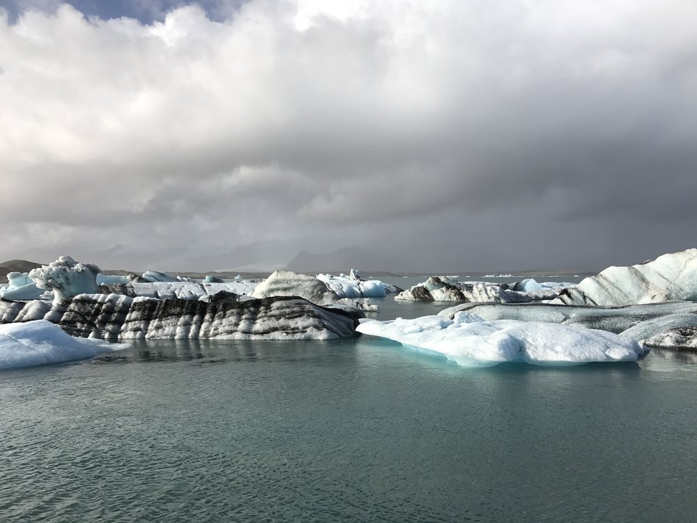 Glacier lagoon. Awesome!