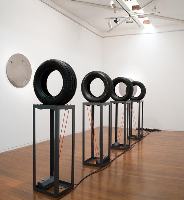 HEAVY INDUSTRY/LIGHT COMMERCIAL Installation view Roslyn Oxley9 Gallery, Sydney 2011 Photo: Ivan Buljan