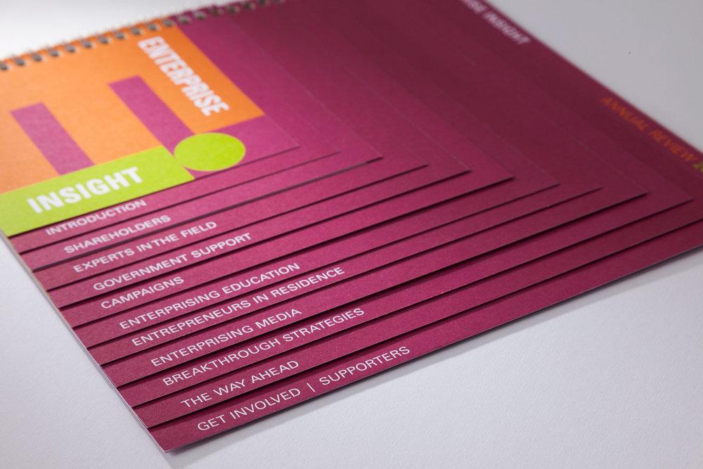 Letterpress gift card