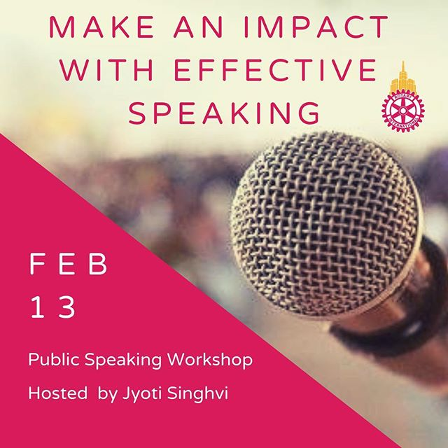 On Feb. 13, Jyoti Singhvi will share what she's learned in 32 years speaking on stage and in public at a special (READ: FREE) Public Speaking Workshop hosted by @rotaractnyc. 🎤 Outside her day job as CEO of the fine jewelry and engagement ring company @jyotinewyork, Jyoti helps businesses grow through innovation, business development, and marketing. Jyoti has given keynote speeches, spoken at MIT and Harvard, and MCed events with thousands in the audience, and she frequently interviews CEOs, business leaders, and public figures. . Jyoti believes that public speaking is a critical skill that can be used to make an impact, not just on stage, but also in one-on-one conversations, group meetings, and presentations. .  All are welcome! . 6:30-8:00pm  LIM College 216 E 45th Street Room 4534 . Free to Attend