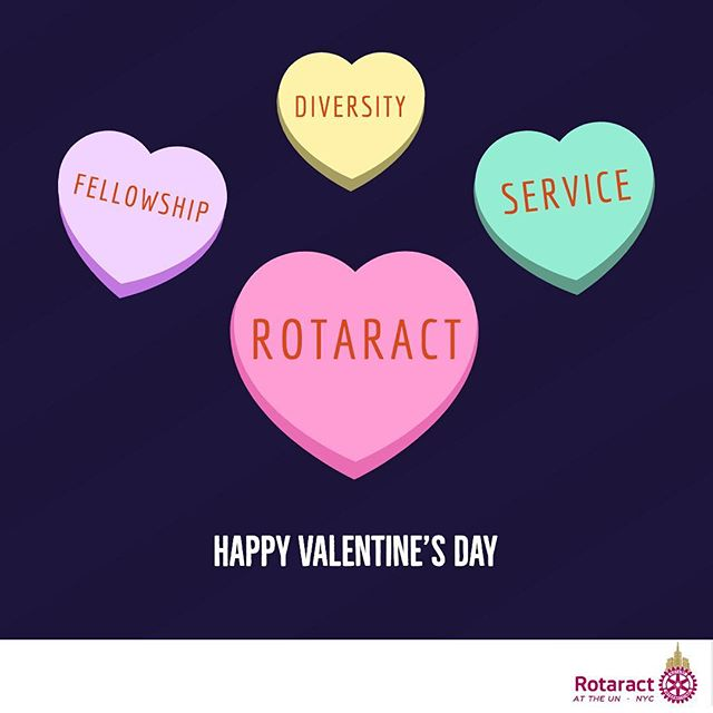 Sending #love from nyc to you through our commitment to fellowship, diversity, and service. 💗  Happy Valentine's Day