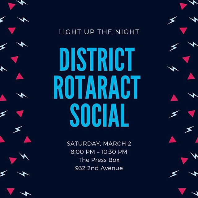 Get your tickets early!  Open bar fundraiser on March 2 with @rotaractclubmanhattannyc, @rotaractnyc, and visiting international Rotaractors from the Model United Nations 🇺🇳 Link in bio 🎟