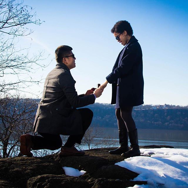 Wow! What an amazing weekend for one our favorite Rotaract couples. 💍 ... Congratulations to @emiliaguzman10 & @signorrogue on their engagement. We are so happy for you! ... #rotaractcouple #congrats🎉 #rotaractnyc