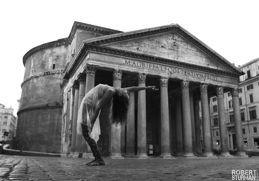 93) Ashika Gogna at the Pantheon: Rome