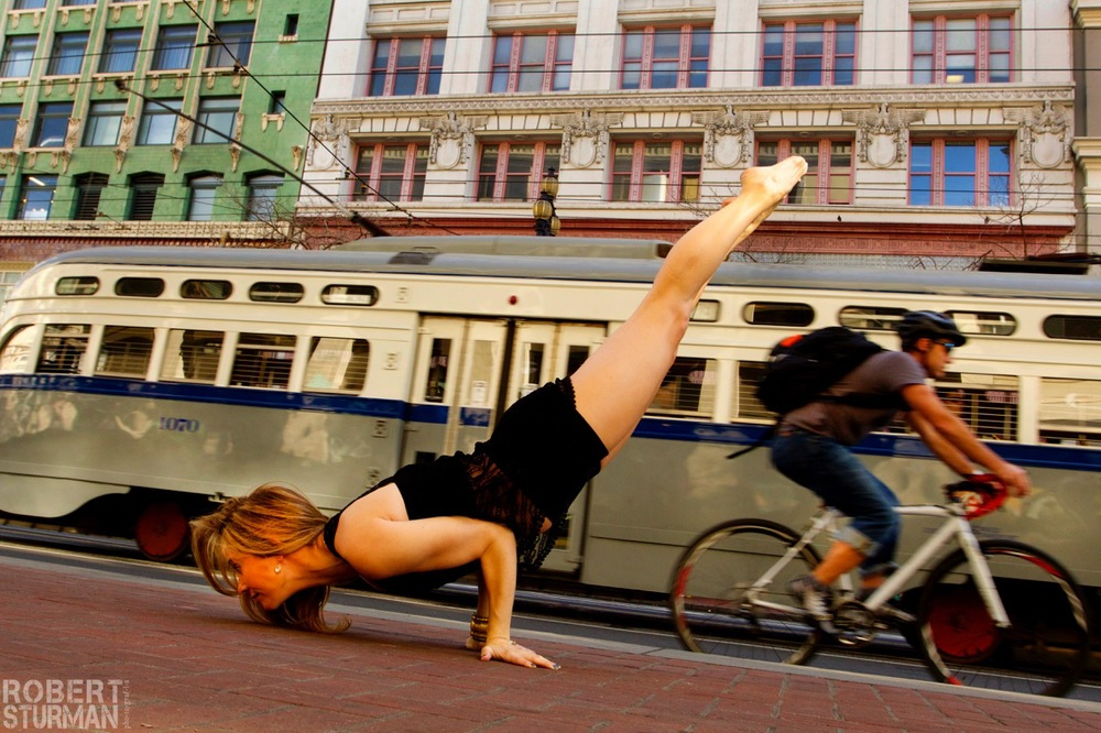 2) Roni Sloman ~ Market Street: San Francisco, California