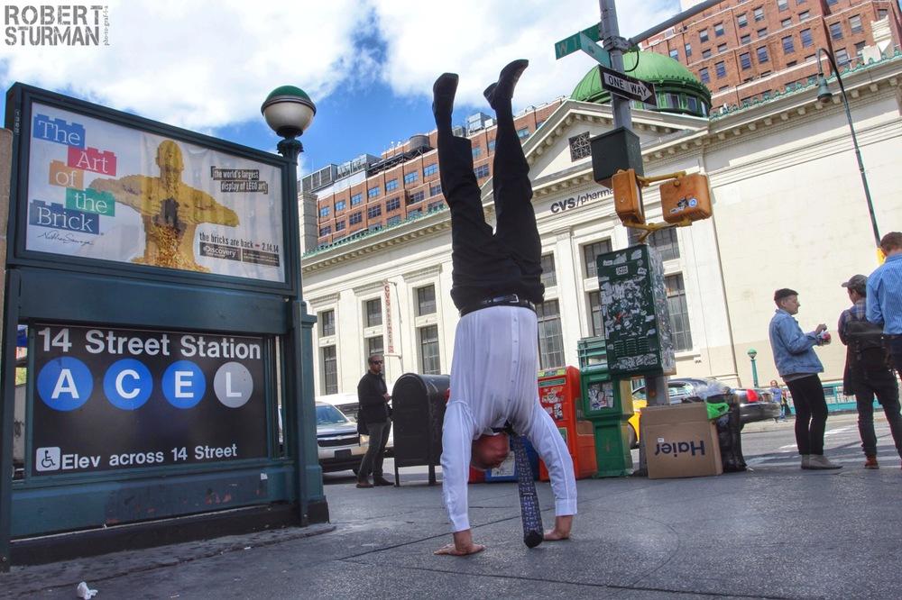 34) Trace Keasler ~ Manhattan CEO Handstand
