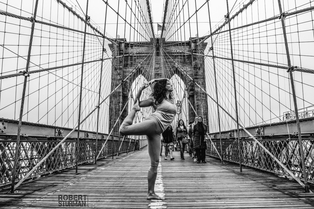 37) Betsey Keely ~ Mermaid on the Brooklyn Bridge