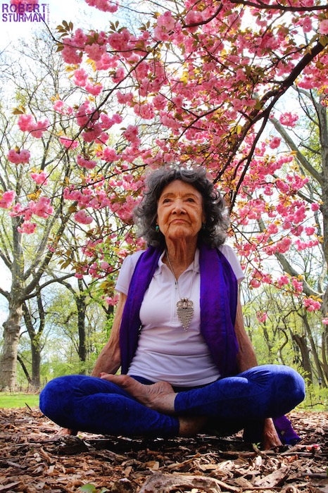 "29) ""Nothing is Impossible"" says Tao Porchon-Lynch at the age of 96 ~ Central Park, New York"