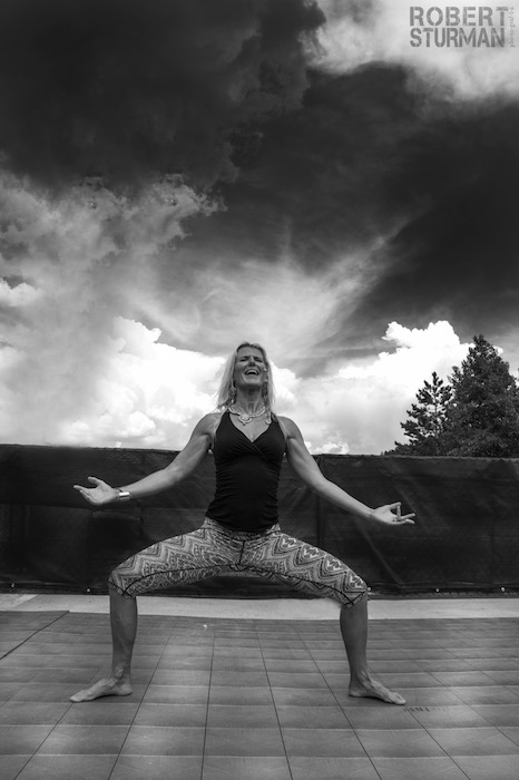 56) Shiva Rea ~A Moment Before the Storm: Squaw Valley, California