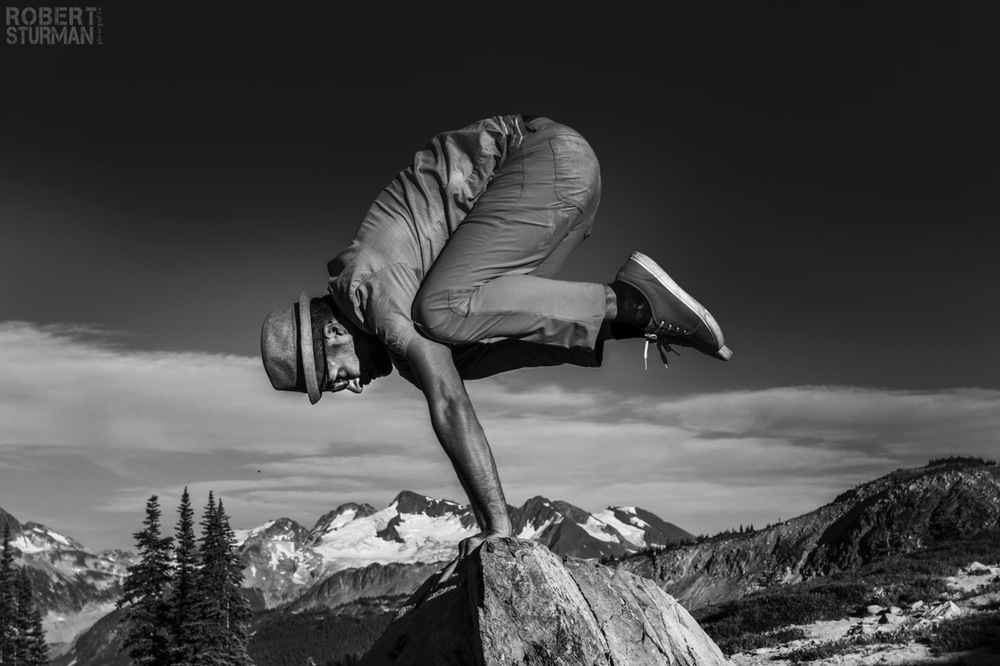 64) MC YOGI ~ Whistler Mountain, Canada