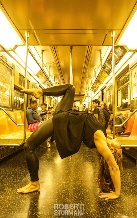 104) Kerri Kelly ~ Heart Opener Heading Uptown on the New York Subway