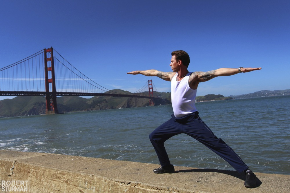 20) Adam Verdoux ~ San Francisco, California. Adam was released from San Quentin State Prison last year. Since his release, he has continued his yoga practice while working as a violence prevention facilitator and speaking about restorative justice.
