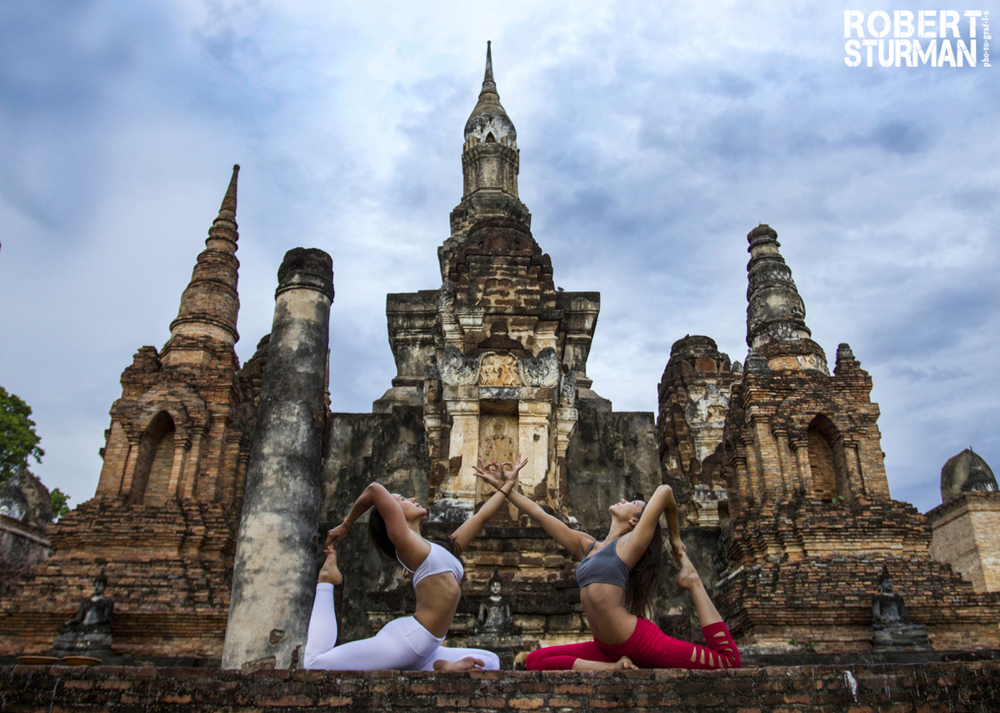 75) Briohny Kate-Smyth and Ashika Gogna ~ The Ancient City of Sukhothai, Thailand