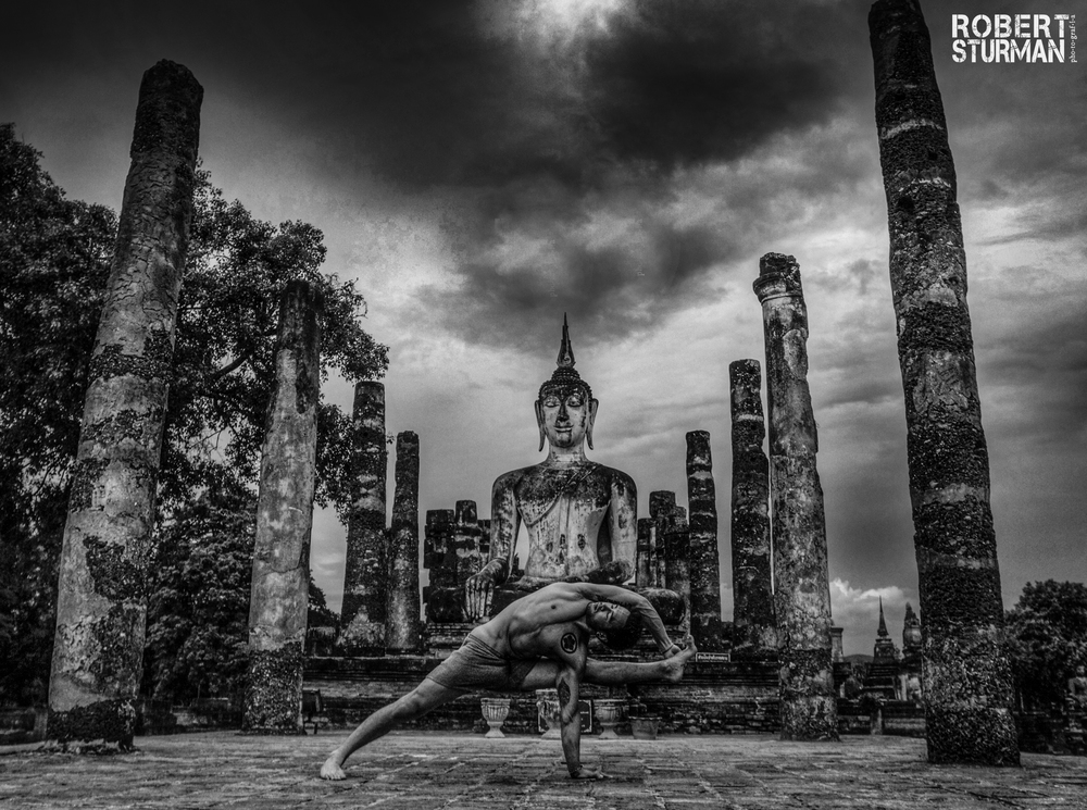 76) Dice Iida Klein ~ The Ancient City of Sukhothai, Thailand