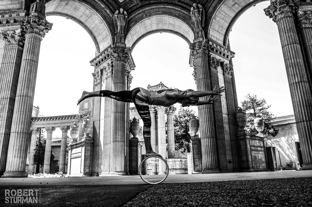 103)   Sandra Arecheaderra Photographed at San Francisco's Palace of Fine Arts