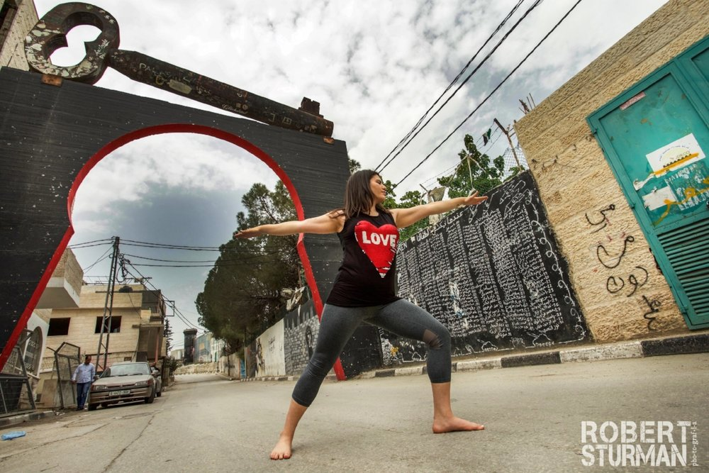 40) Jacky Alarja: Bethlehem, Palestine