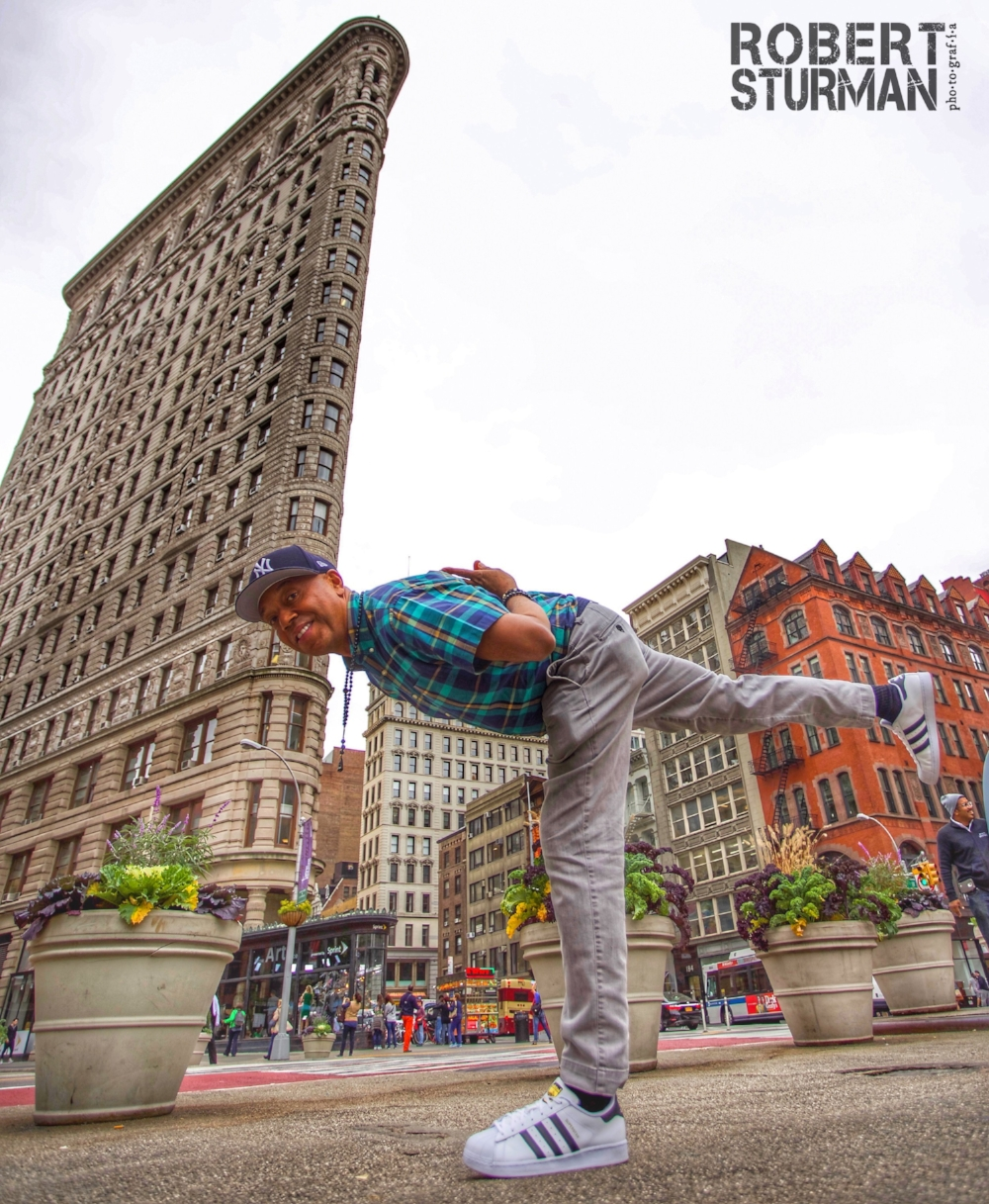 89) Russell Simmons: The Flatiron Building, New York