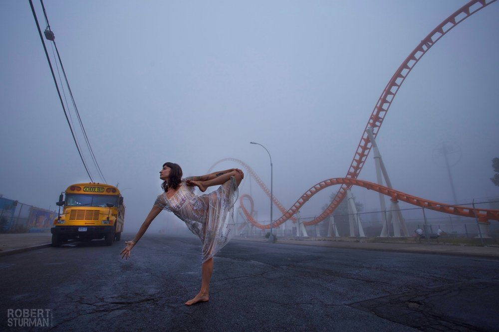90) Kelly Kamm: Coney Island, New York