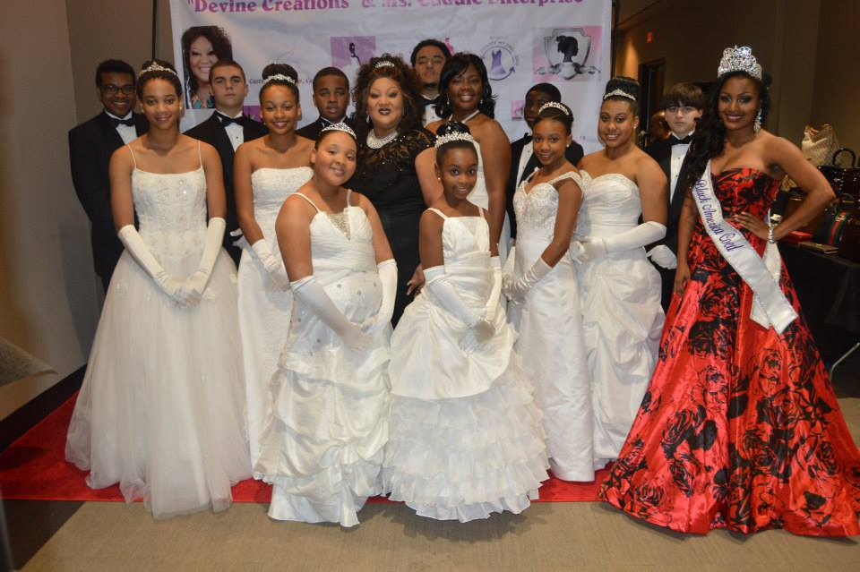 Miss Black America Coed Roneshia Ray was the guest speaker at the annual Devine Creations Debutante Ball.