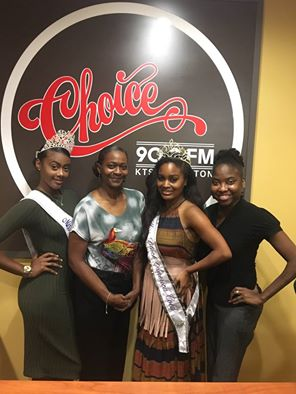 Miss Black America Coed Roneshia Ray and Miss Black American Teen Kaylah Baker were special guests on 90.9 FM The Choice for Angela Lemon's radio show.