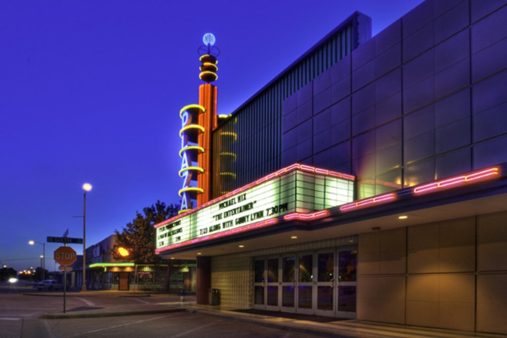 The plaza theater at the granville arts center