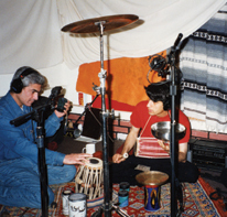 Koorosh Angali & Alan Kushan Rumi Recording Sessions