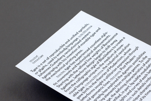 ChiDM exhibition wayfinding information design