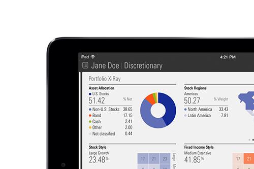 Morningstar Advisor iPad App