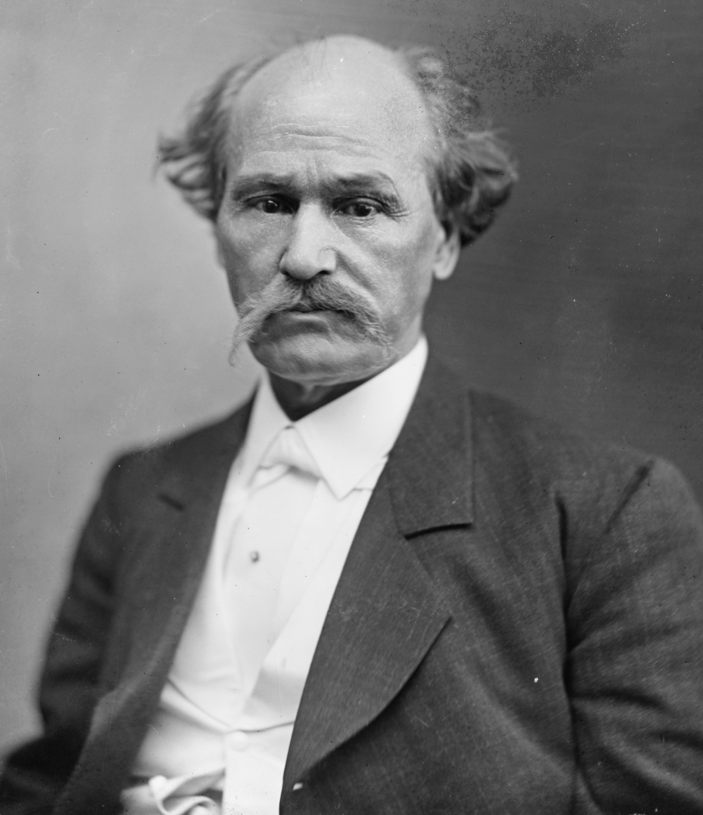 Isham G. Harris. Secessionist Governor of Tennessee at the time of the Civil War. Collection of Library of Congress.