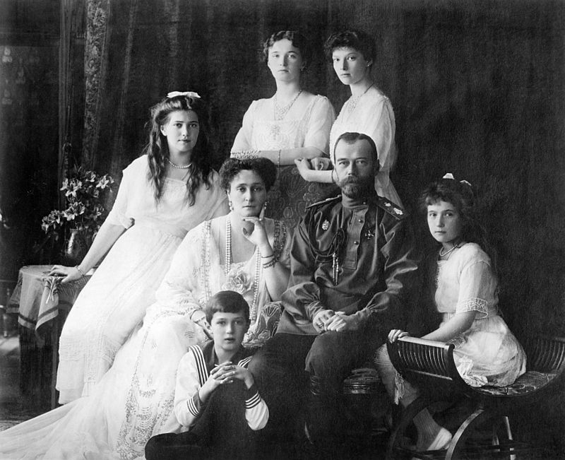 The Romanov Royal Family ca. 1913-1914.