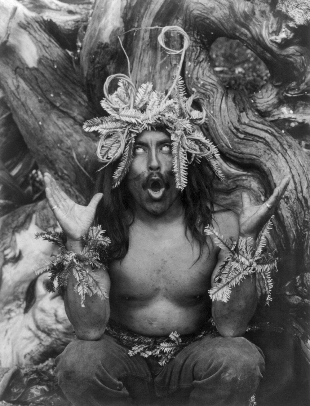 Hamatsa shaman, 1923.