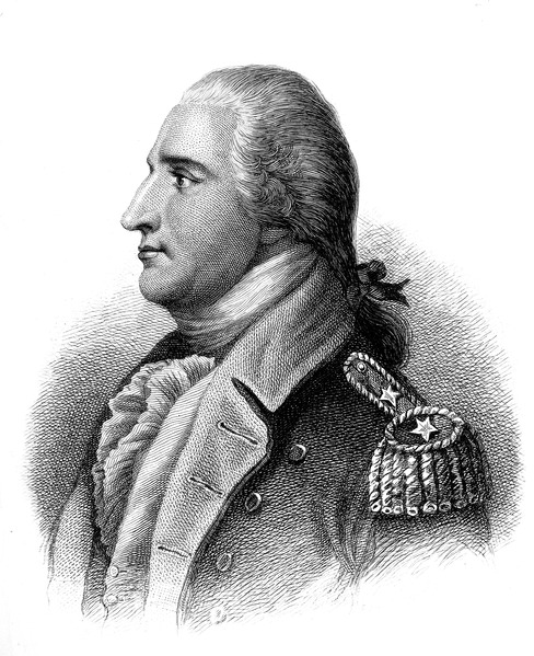 Engraving of Benedict Arnold, 1879.