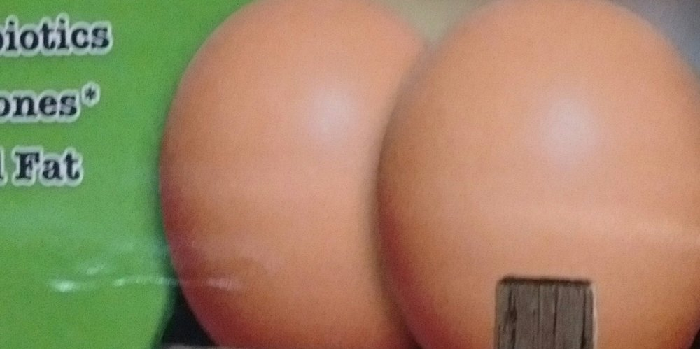 Eggs, or ass? You be the judge.