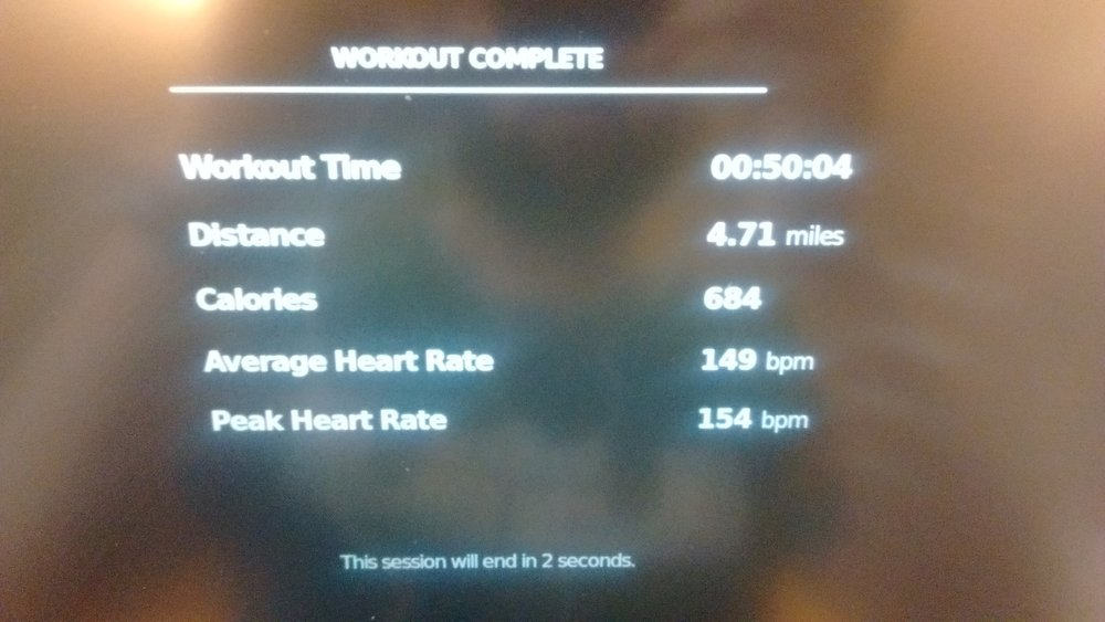 I'm proud of today's workout... This is what I'm doing. I'm not great but I'm not a punk either.