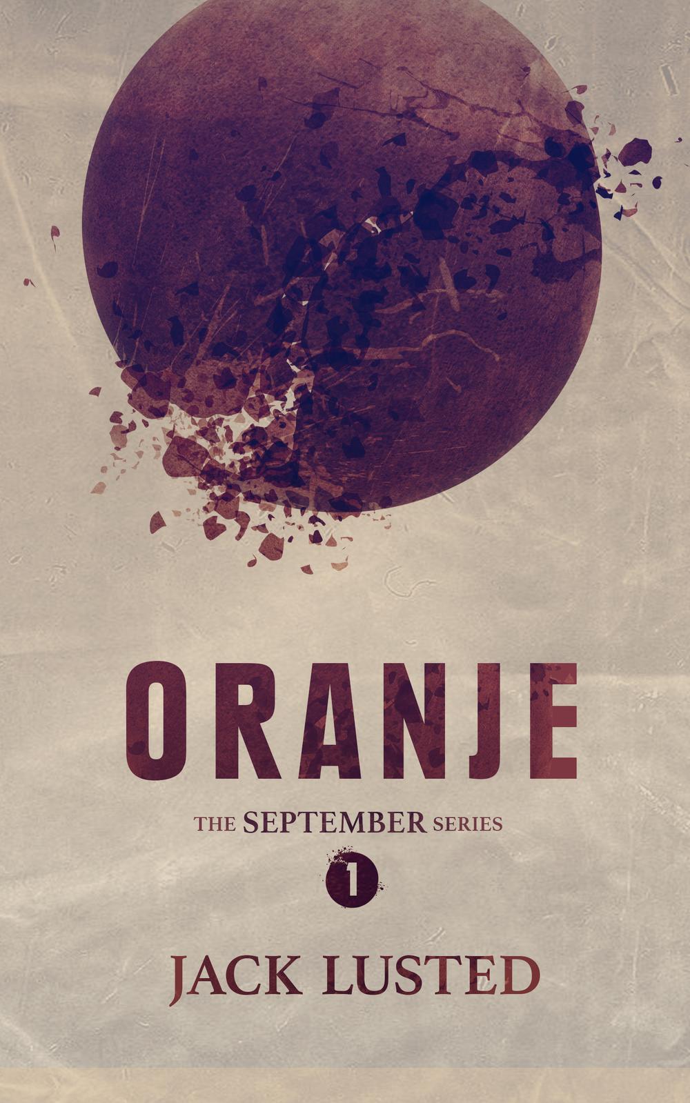 The ebook cover for Oranje .